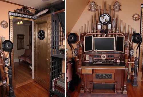 steampunk office. Monday, April 10, 2017 Views: 42 Steampunk Office C