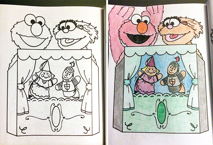 This is What Happens When Adults Do Coloring Books For Kids ...