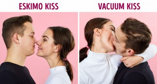 What does kissing on the lips mean