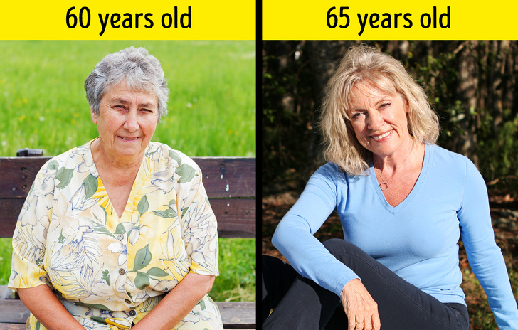 weight loss sixty year old woman